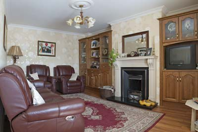 Make yourself comfortable in the Sitting Room of Riverdale Farmhouse B&B in Doolin County Clare Ireland